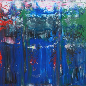 Awakening - abstract painting by Irish abstract artist Vincent Kennedy