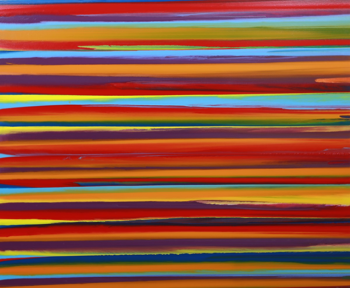 Abstract Line Art Paintings : Lines i vincent kennedy paintings
