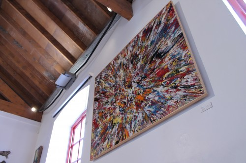 Marvel - abstract painting by Irish abstract artist Vincent Kennedy