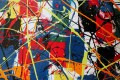 Lazy Tune - close 1 Vincent Kennedy art - abstract paint