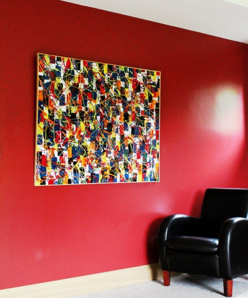 Lazy Tune - far Vincent Kennedy art - abstract paint