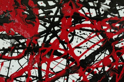 Myocardial Infarction - close Vincent Kennedy art - abstract paint