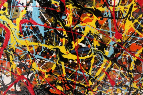 PJP - close 1 Vincent Kennedy art - abstract paint
