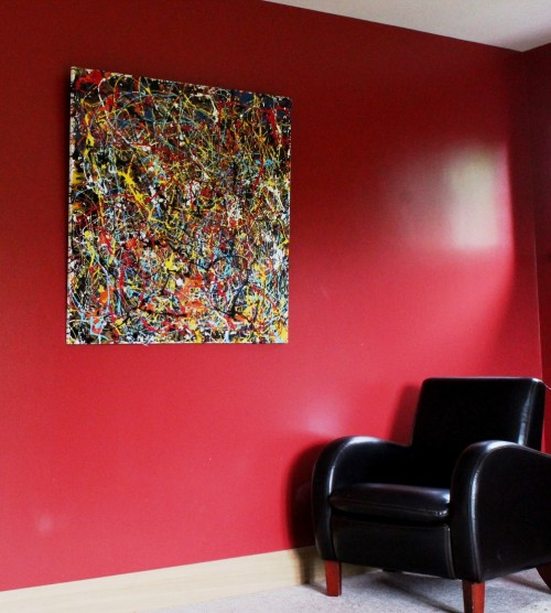 PJP - far Vincent Kennedy art - abstract paint