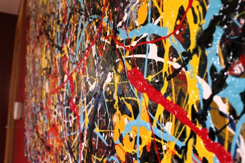 PJP - slant Vincent Kennedy art - abstract paint
