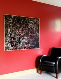 Stellar - far Vincent Kennedy Art Abstract painting